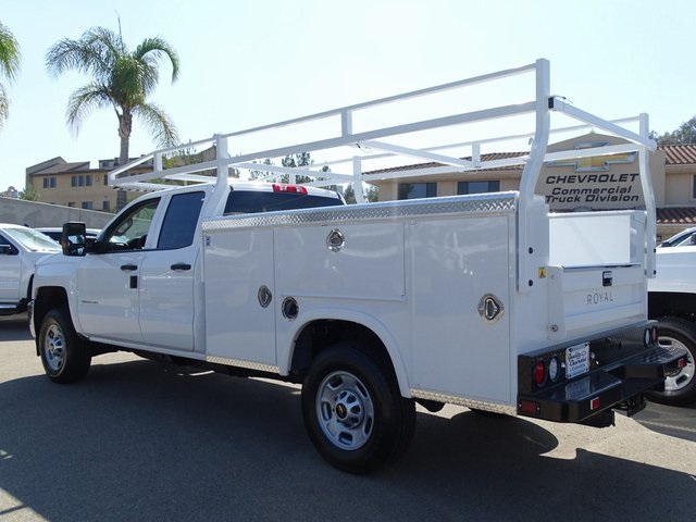 2019 Silverado 2500 Double Cab 4x2,  Royal Service Body #190351 - photo 2