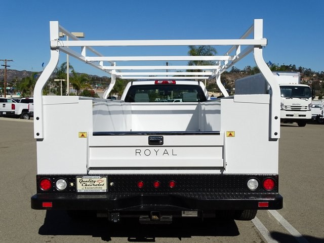 2019 Silverado 3500 Regular Cab DRW 4x2,  Royal Service Body #190356 - photo 6