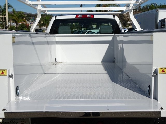 2019 Silverado 3500 Regular Cab DRW 4x2,  Royal Service Body #190356 - photo 8