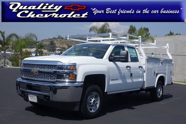 2019 Silverado 2500 Double Cab 4x2,  Cab Chassis #190465 - photo 1