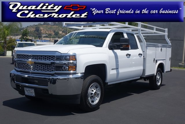 2019 Silverado 2500 Double Cab 4x2,  Cab Chassis #190479 - photo 1