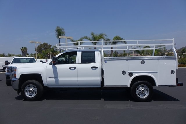 2019 Silverado 2500 Double Cab 4x2,  Cab Chassis #190479 - photo 2