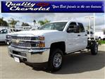 2019 Silverado 2500 Double Cab 4x2,  Cab Chassis #190567 - photo 1