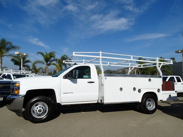 2019 Silverado 3500 Regular Cab DRW 4x2,  Royal Service Combo Body #190578 - photo 5