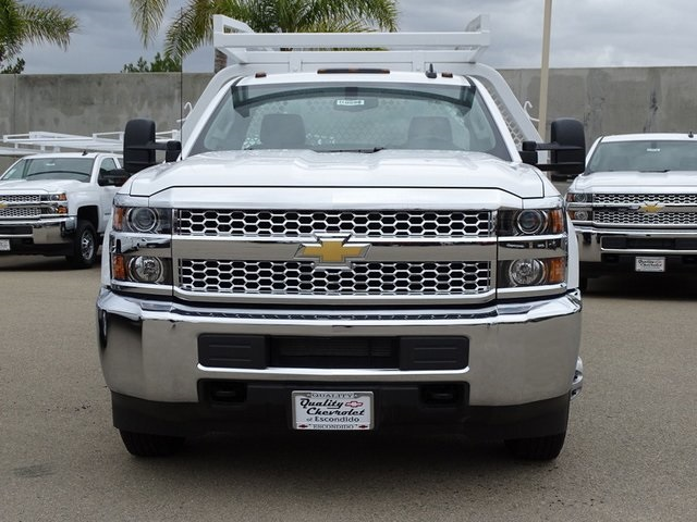 2019 Silverado 3500 Regular Cab DRW 4x2,  Royal Contractor Body #190598 - photo 3