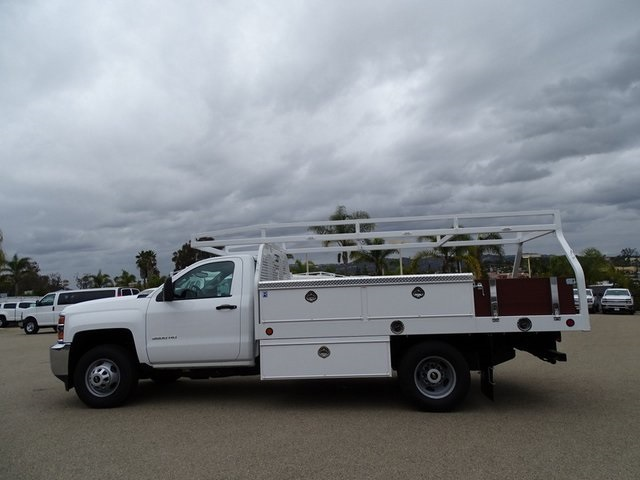 2019 Silverado 3500 Regular Cab DRW 4x2,  Royal Contractor Body #190598 - photo 5