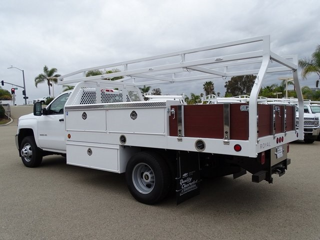 2019 Silverado 3500 Regular Cab DRW 4x2,  Royal Contractor Body #190598 - photo 2