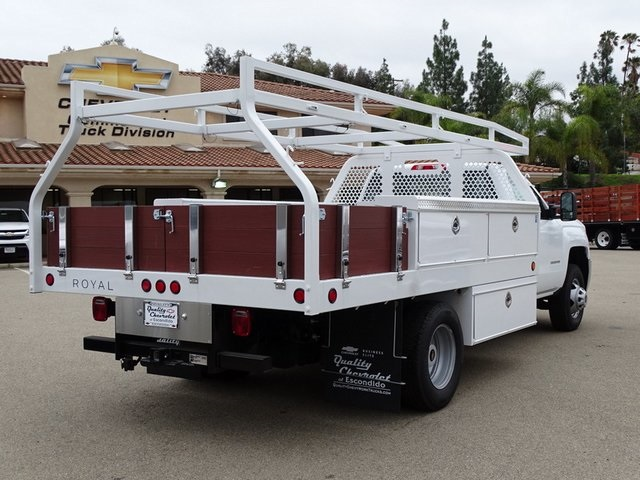2019 Silverado 3500 Regular Cab DRW 4x2,  Royal Contractor Body #190598 - photo 7