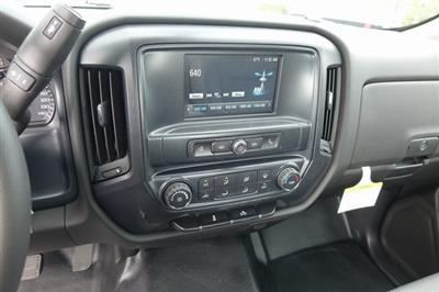 2019 Silverado 3500 Regular Cab DRW 4x2,  Harbor Black Boss Stake Bed #190619 - photo 16
