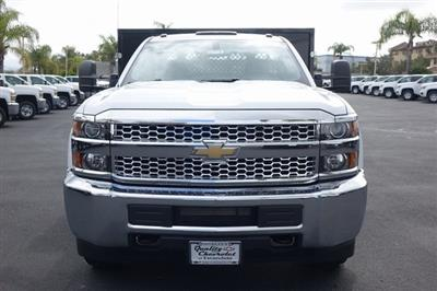 2019 Silverado 3500 Regular Cab DRW 4x2,  Harbor Black Boss Stake Bed #190619 - photo 3