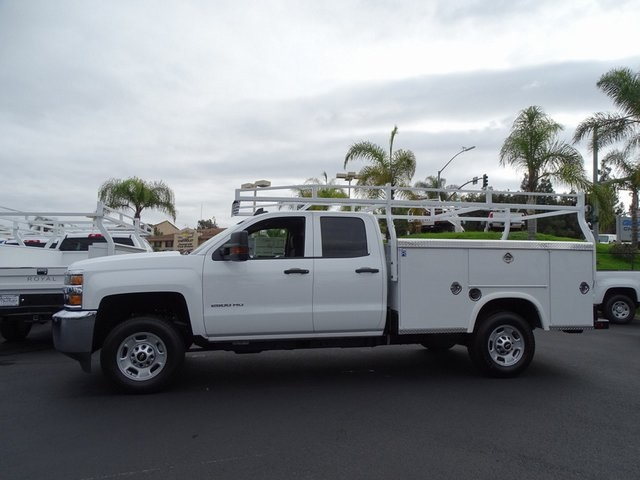 2019 Silverado 2500 Double Cab 4x2,  Royal Service Body #190714 - photo 5