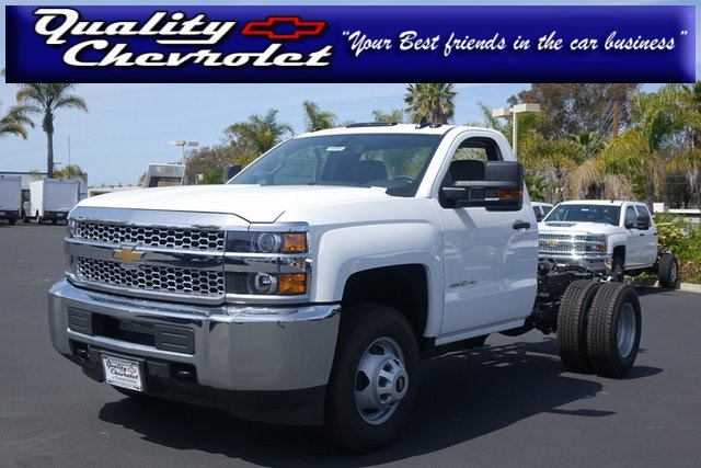 2019 Silverado 3500 Regular Cab DRW 4x2,  Cab Chassis #190721 - photo 1