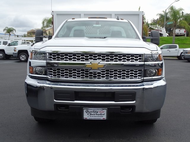 2019 Silverado 3500 Regular Cab DRW 4x2,  Royal Landscape Dump #190742 - photo 3