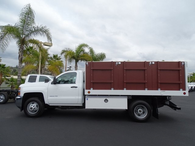 2019 Silverado 3500 Regular Cab DRW 4x2,  Royal Landscape Dump #190742 - photo 5