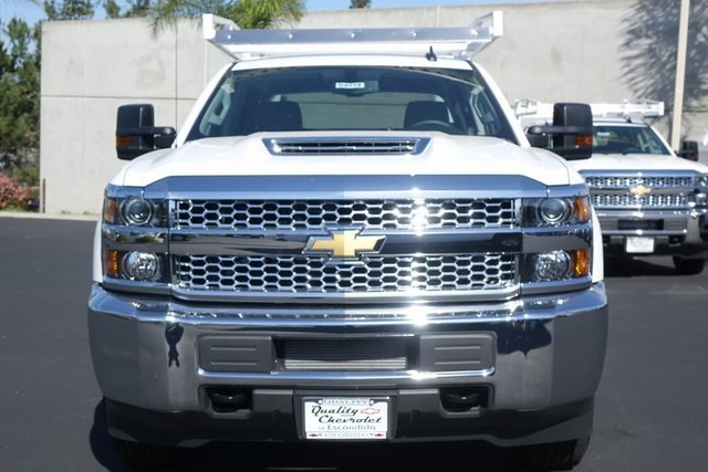2019 Silverado 3500 Crew Cab 4x2,  Royal Service Body #190772 - photo 4