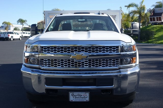 2019 Silverado 3500 Regular Cab DRW 4x2,  Royal Stake Bed #190791 - photo 3