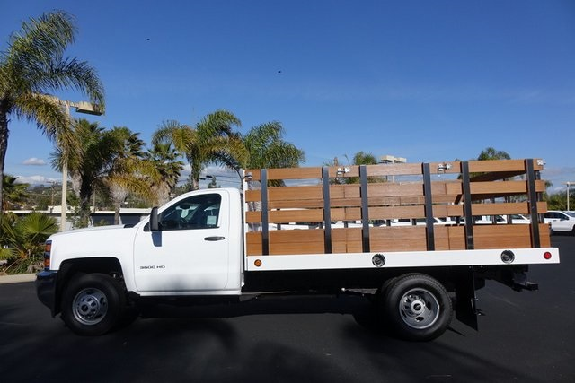 2019 Silverado 3500 Regular Cab DRW 4x2,  Royal Stake Bed #190791 - photo 5