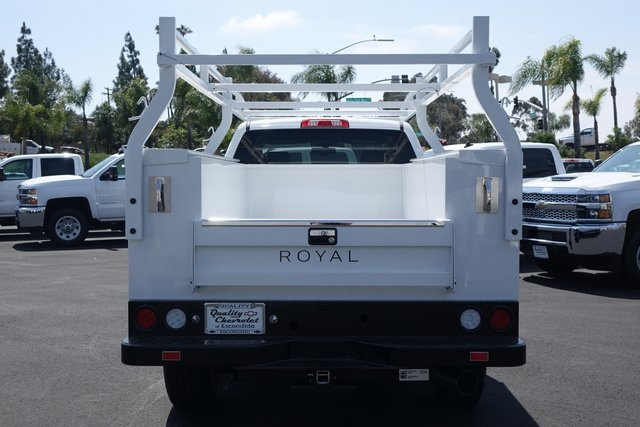 2019 Silverado 3500 Crew Cab 4x4,  Royal Service Body #190861 - photo 6