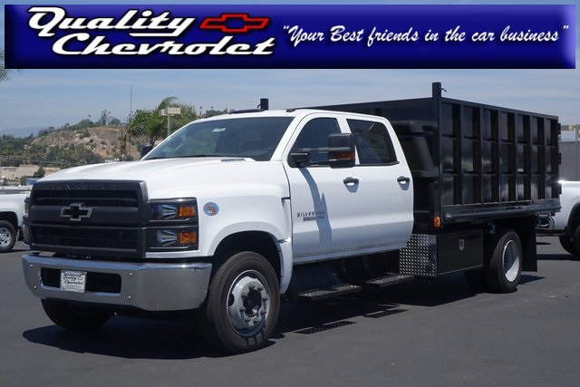 2019 Silverado Medium Duty Crew Cab 4x2,  Martin Landscape Dump #190949 - photo 1