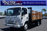 2019 LCF 4500 Regular Cab 4x2,  Metro Truck Body Stake Bed #191383 - photo 1