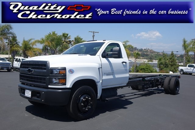 2019 Silverado Medium Duty DRW 4x2,  Cab Chassis #191442 - photo 1