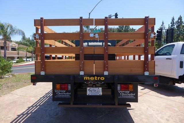 2019 LCF 4500 Regular Cab 4x2,  Metro Truck Body Stake Bed #191496 - photo 5