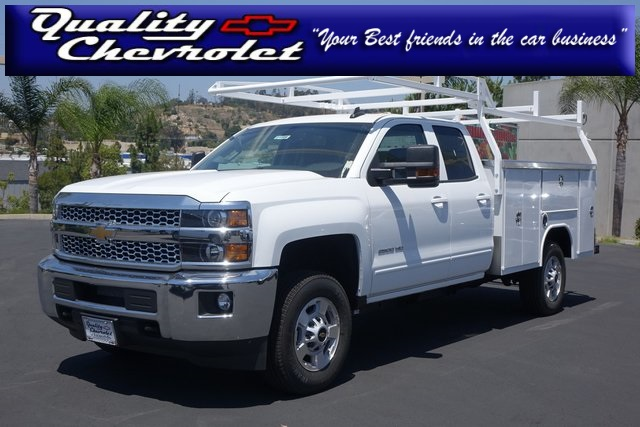 2019 Silverado 2500 Double Cab 4x2,  Harbor Service Body #191566 - photo 1
