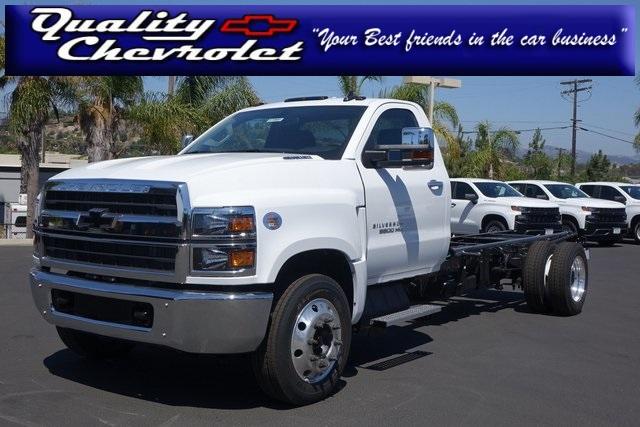 2019 Silverado Medium Duty DRW 4x2,  Cab Chassis #191801 - photo 1