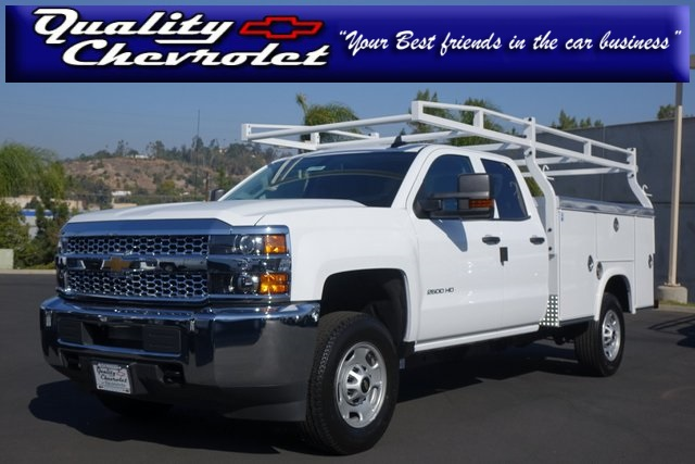 2019 Silverado 2500 Double Cab 4x2, Royal Service Body #191959 - photo 1