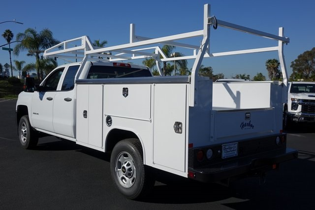 2019 Silverado 2500 Double Cab 4x2, Harbor Service Body #191964 - photo 1
