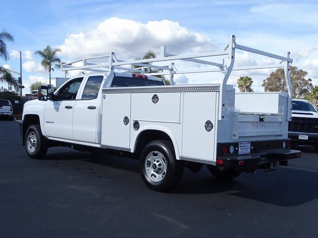 2019 Silverado 2500 Double Cab 4x2, Royal Service Body #192001 - photo 1