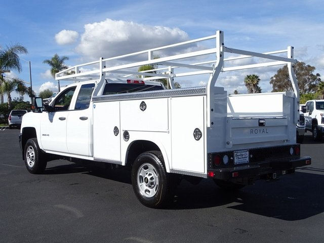 2019 Silverado 2500 Double Cab 4x2, Royal Service Body #192002 - photo 1