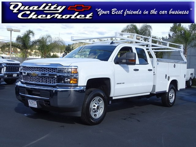 2019 Silverado 2500 Double Cab 4x2, Royal Service Body #192004 - photo 1