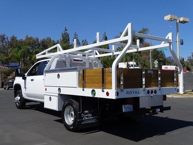2021 Chevrolet Silverado 3500 Crew Cab 4x2, Royal Truck Body Contractor Body #211689 - photo 1