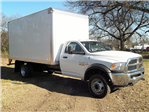 2016 Ram 5500 Regular Cab DRW 4x2,  W & W Body Builders of Columbia Dry Freight #G119513 - photo 1