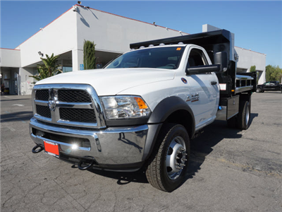 2016 Ram 5500 Regular Cab DRW 4x4,  Rugby Eliminator LP Steel Dump Body #G205634 - photo 1