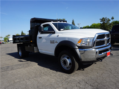 2016 Ram 5500 Regular Cab DRW 4x4,  Rugby Eliminator LP Steel Dump Body #G205634 - photo 3