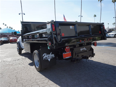 2016 Ram 5500 Regular Cab DRW 4x4,  Rugby Eliminator LP Steel Dump Body #G205634 - photo 2