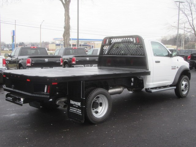 2017 Ram 5500 Regular Cab DRW 4x4, Knapheide Platform Body #G514335 - photo 2