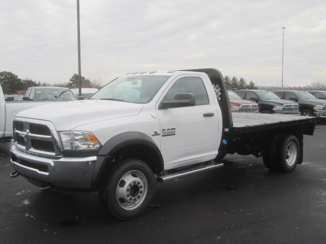 2017 Ram 5500 Regular Cab DRW 4x4,  Knapheide PGNB Gooseneck Platform Body #G514335 - photo 1