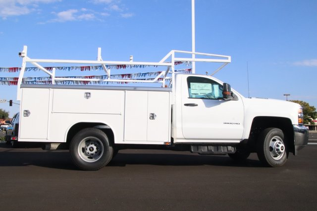 2018 Silverado 3500 Regular Cab DRW 4x2,  Harbor Service Body #00221074 - photo 5