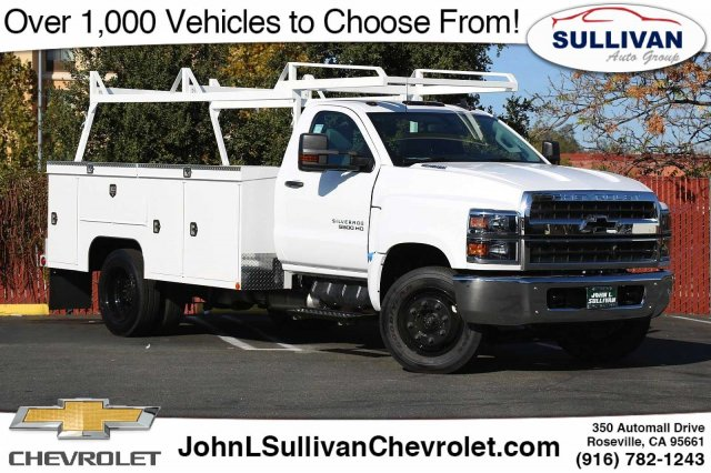 2019 Chevrolet Silverado 5500 Regular Cab DRW 4x2, Scelzi Service Body #00230247 - photo 1