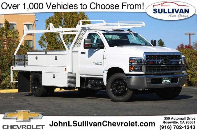 2019 Chevrolet Silverado 5500 Regular Cab DRW RWD, Scelzi Contractor Body #00231129 - photo 1