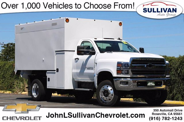 2020 Chevrolet Silverado 5500 Regular Cab DRW 4x4, Knapheide Standard Forestry Chipper Body #00232308 - photo 1