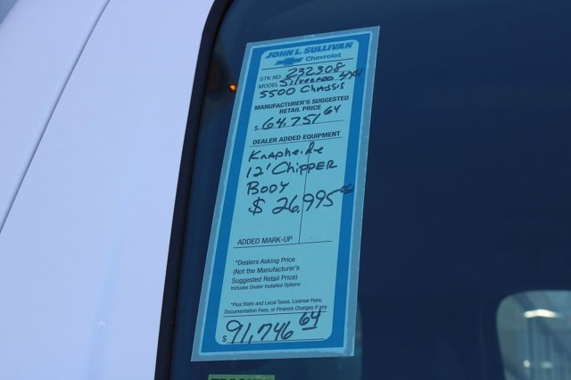 2020 Chevrolet Silverado 5500 Regular Cab DRW 4x4, Knapheide Standard Forestry Chipper Body #00232308 - photo 17