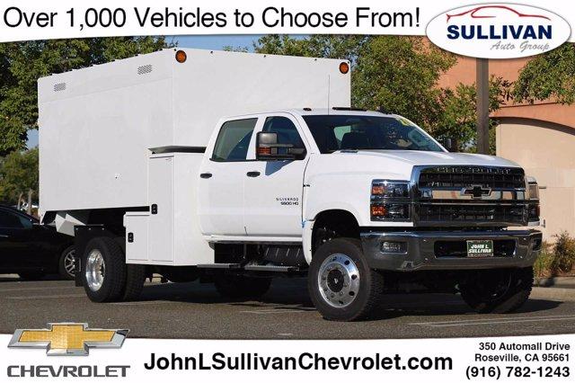 2020 Chevrolet Silverado 5500 Crew Cab DRW 4x4, Knapheide Chipper Body #00232963 - photo 1
