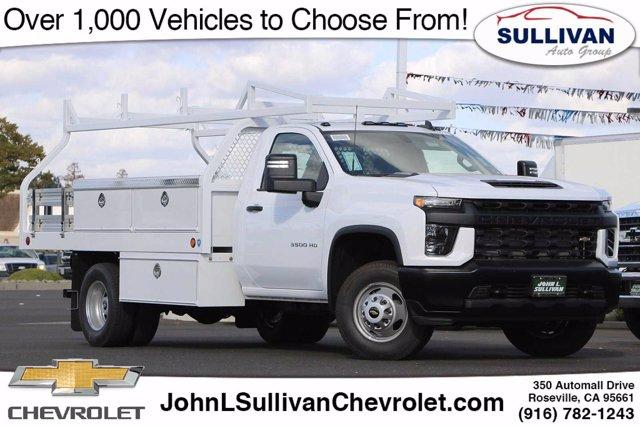 2020 Chevrolet Silverado 3500 Regular Cab DRW RWD, Knapheide Platform Body #00233274 - photo 1