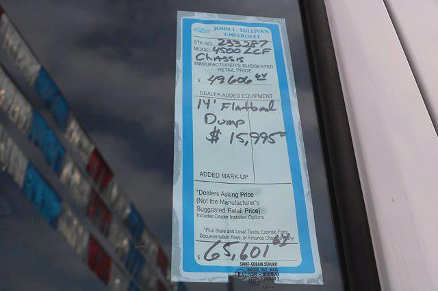 2020 Chevrolet LCF 4500 Regular Cab DRW 4x2, Morgan Prostake Platform Body #00233287 - photo 19
