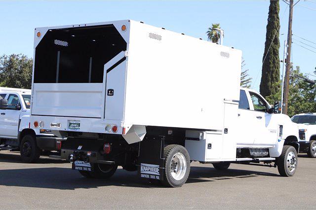 2020 Chevrolet Silverado 5500 Crew Cab DRW 4x4, Knapheide Standard Forestry Chipper Body #00233703 - photo 2
