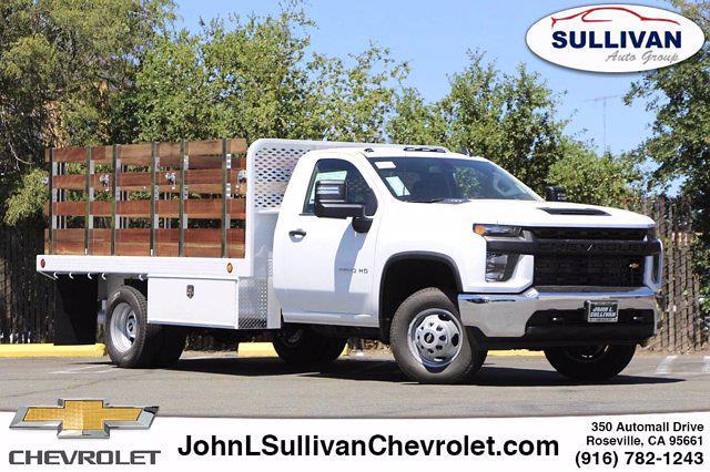 2021 Chevrolet Silverado 3500 Regular Cab 4x2, Scelzi Stake Bed #00235453 - photo 1